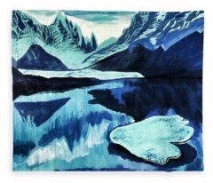 Artic Blue  Fleece Blanket