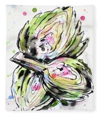 Artichoke Hearts Fleece Blanket