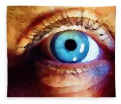 Artist Eye View Fleece Blanket