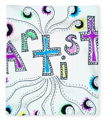 Artist Fleece Blanket