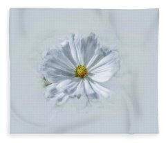 Artistic White #g1 Fleece Blanket