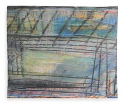 Artists' Cemetery Fleece Blanket