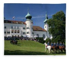 Artstetten Castle In June Fleece Blanket