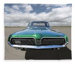 Green With Envy - 68 Mercury Fleece Blanket
