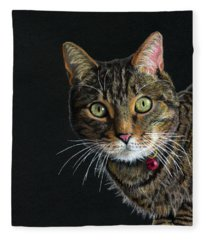 Mesmer Eyes Fleece Blanket
