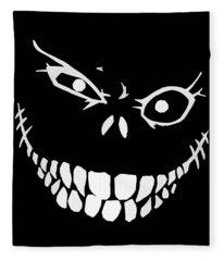 Scary Digital Art Fleece Blankets