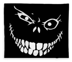 Creepy Fleece Blankets