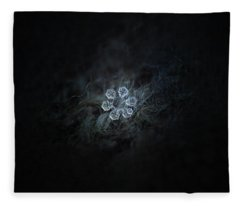 Icy Jewel Fleece Blanket