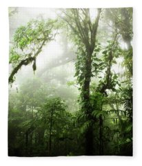 Cloud Forest Fleece Blanket