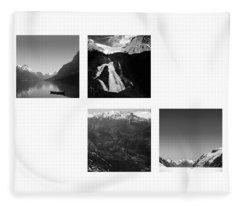 in search of emptiness. Norway 3 Fleece Blanket