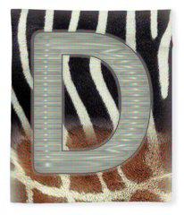 Monogram D Fleece Blanket