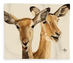Impalas Fleece Blanket