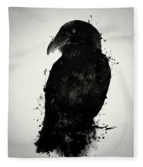The Raven Fleece Blanket