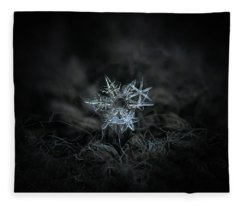 Snowflake Of 19 March 2013 Fleece Blanket