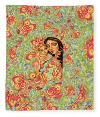 Goddess Blessing Fleece Blanket