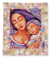 Dreaming Together Fleece Blanket