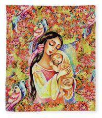 Little Angel Dreaming Fleece Blanket