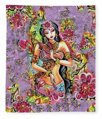 Kuan Yin Fleece Blanket
