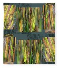 September Grass - Fleece Blanket