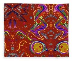Xtine's Nebula 1 Fleece Blanket