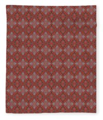 Sliced Pomegranate Fleece Blanket