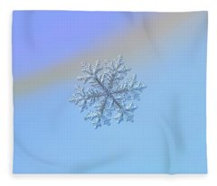 Real Snowflake - Hyperion Fleece Blanket