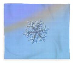 Real Snowflake - Hyperion Fleece Blanket
