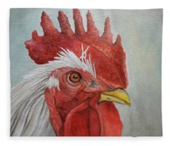 Mister Rooster Fleece Blanket