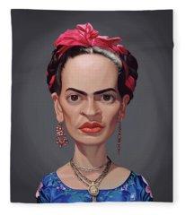 Celebrity Sunday - Frida Kahlo Fleece Blanket