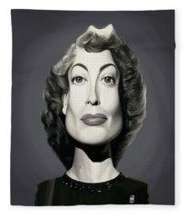 Celebrity Sunday - Joan Crawford Fleece Blanket