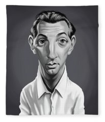 Celebrity Sunday - Robert Mitchum Fleece Blanket