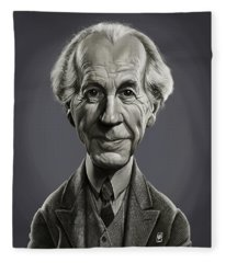 Celebrity Sunday - Frank Lloyd Wright Fleece Blanket