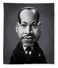 Celebrity Sunday - Martin Luther King Fleece Blanket