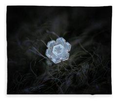 Real Snowflake - 29-jan-2018 - 1 Fleece Blanket