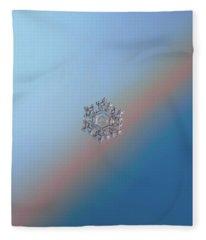 Real Snowflake - 05-feb-2018 - 1 Fleece Blanket