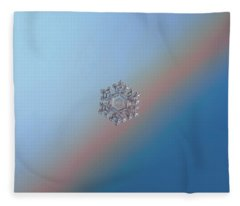 Real Snowflake - 05-feb-2018 - 1 Fleece Blanket