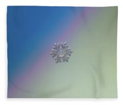 Real Snowflake - 05-feb-2018 - 1 Alt Fleece Blanket