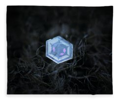 Real Snowflake - 29-jan-2018 - 3 Fleece Blanket