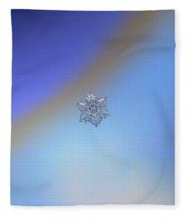 Real Snowflake - 05-feb-2018 - 2 Fleece Blanket