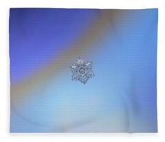Real Snowflake - 05-feb-2018 - 2 Fleece Blanket