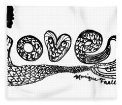 Mermaid Love Fleece Blanket