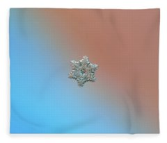 Real Snowflake - 05-feb-2018 - 3 Fleece Blanket