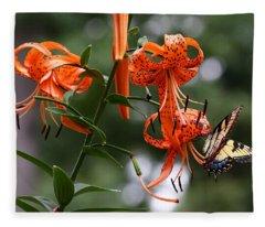Tiger Tiger Fleece Blanket
