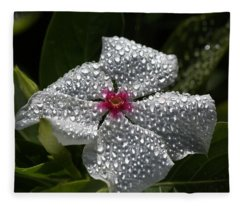 Natures Glitter Fleece Blanket