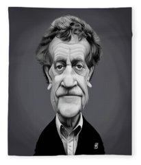 Celebrity Sunday - Kurt Vonnegut Fleece Blanket