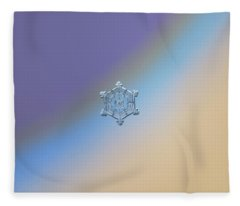 Real Snowflake - 05-feb-2018 - 4 Fleece Blanket