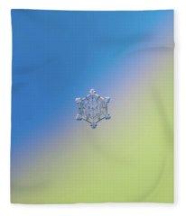Real Snowflake - 05-feb-2018 - 4 Alt Fleece Blanket