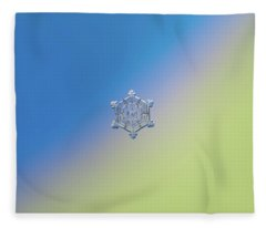 Real Snowflake - 05-feb-2018 - 4 Alt Fleece Blanket