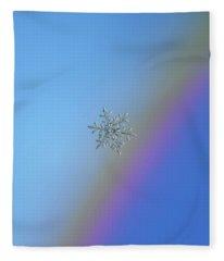 Real Snowflake - 21-feb-2018 - 1 Fleece Blanket