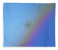 Real Snowflake - 21-feb-2018 - 1 Fleece Blanket